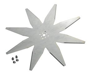 8-Zacken-Messer 25 cm (gekröpft) für Ambrogio/Wiper